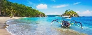 Пляжный отдых в Индонезии